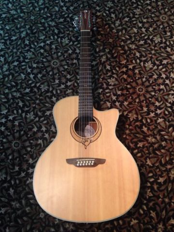 LUNA Heartsong 12 string acoustic-electric $479.00
