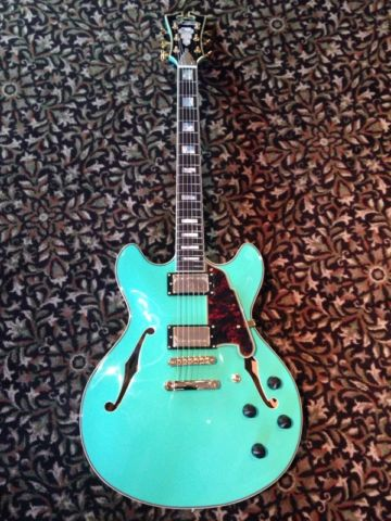 D'Angelico EX-DC semi hollow bod $1,839.00